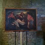 """reproduction d'un tableau du Titien """"la mise au tombeau"""""""