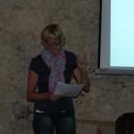 La présidente de l'Association : Anne Castets
