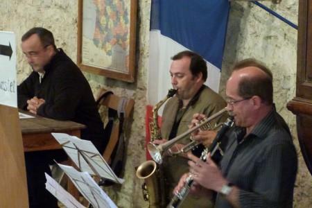 Des membres de L'Harmonie du Cap de Gascogne