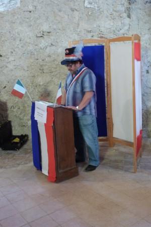 Marc Juzan : Cantonnier, Maire