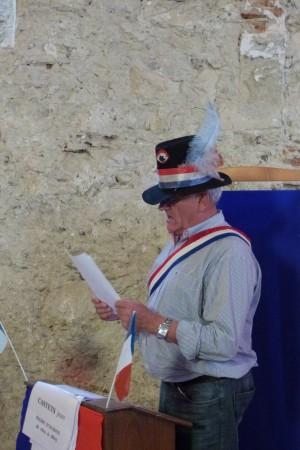 Francis Cazaux : Maire