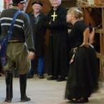 Karine Daverat : la veuve Laffitte et Guy Feugas : le gendarme