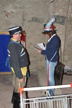 Guy Feugas: le gendarme et Régine Feugas : Mairesse